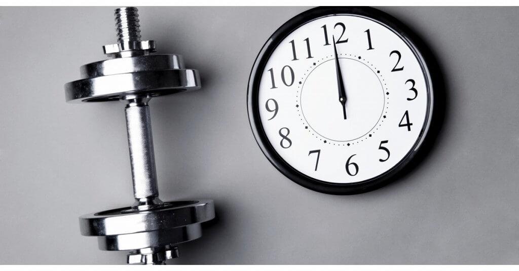 یک جلسه تمرین بدن سازی موثر چقدر باید طول بکشد؟
