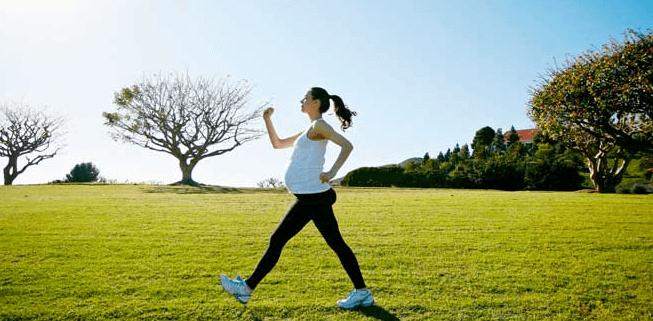 پیاده روی سریع برای کنترل وزن در بارداری