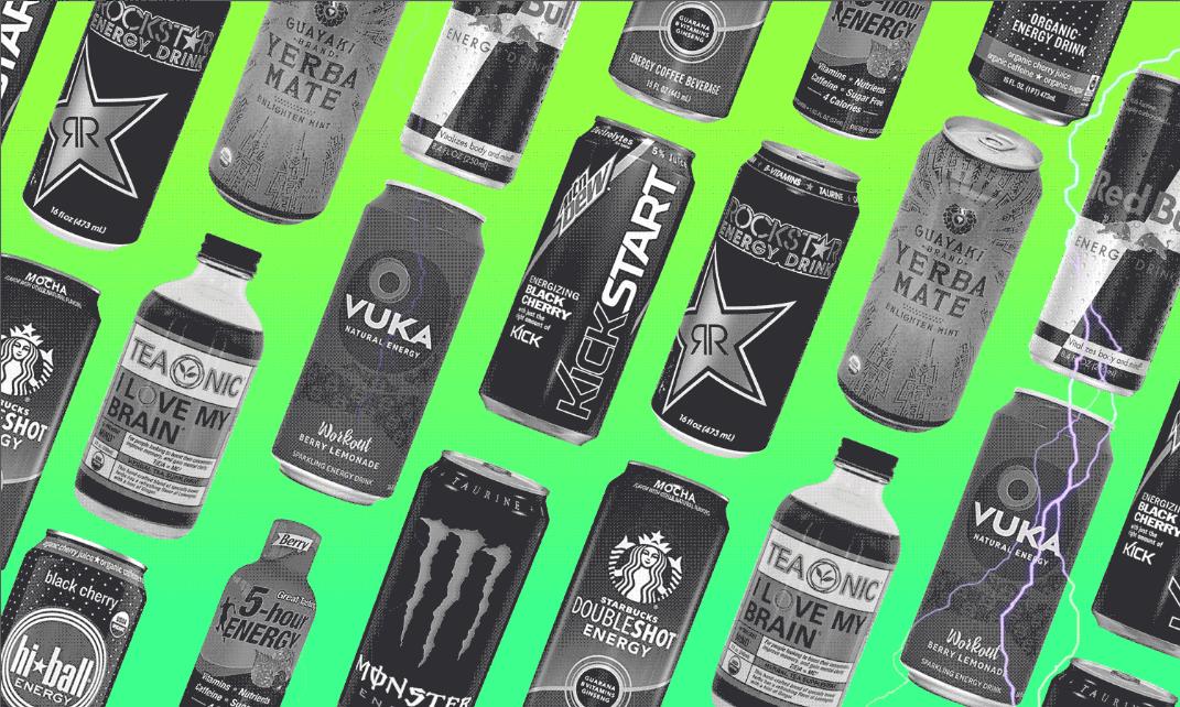 مواد تشکیل دهنده نوشیدنی های انرژی زا