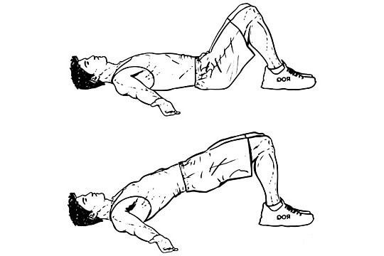 حرکات ورزشی پل